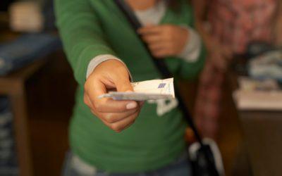 Fraude fiscal, pagos en efectivo igual o superiores a 2.500 euros